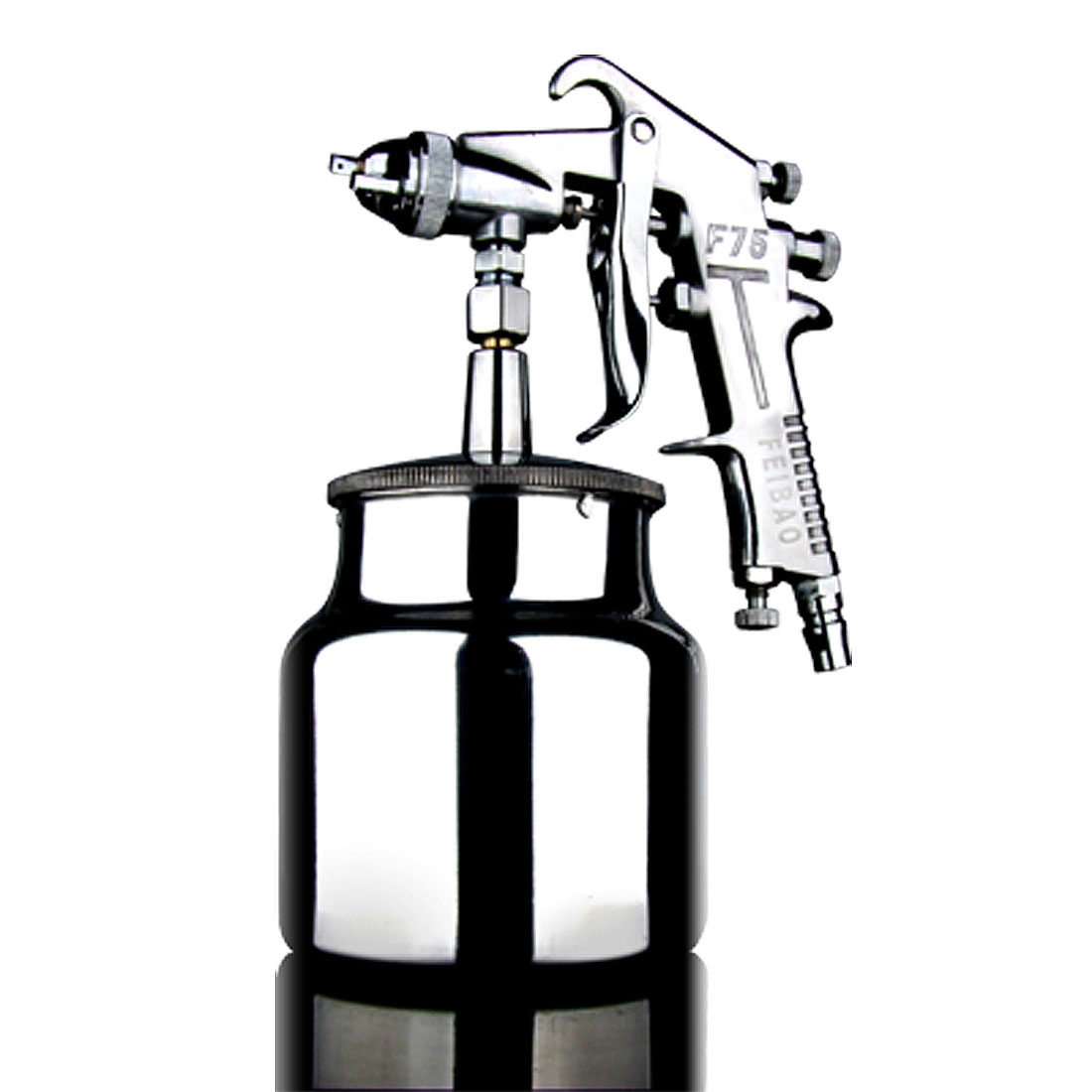 Unique Bargains Sliver Tone Aluminum Metal Paint Sprayer Gun Air Tool at Sears.com