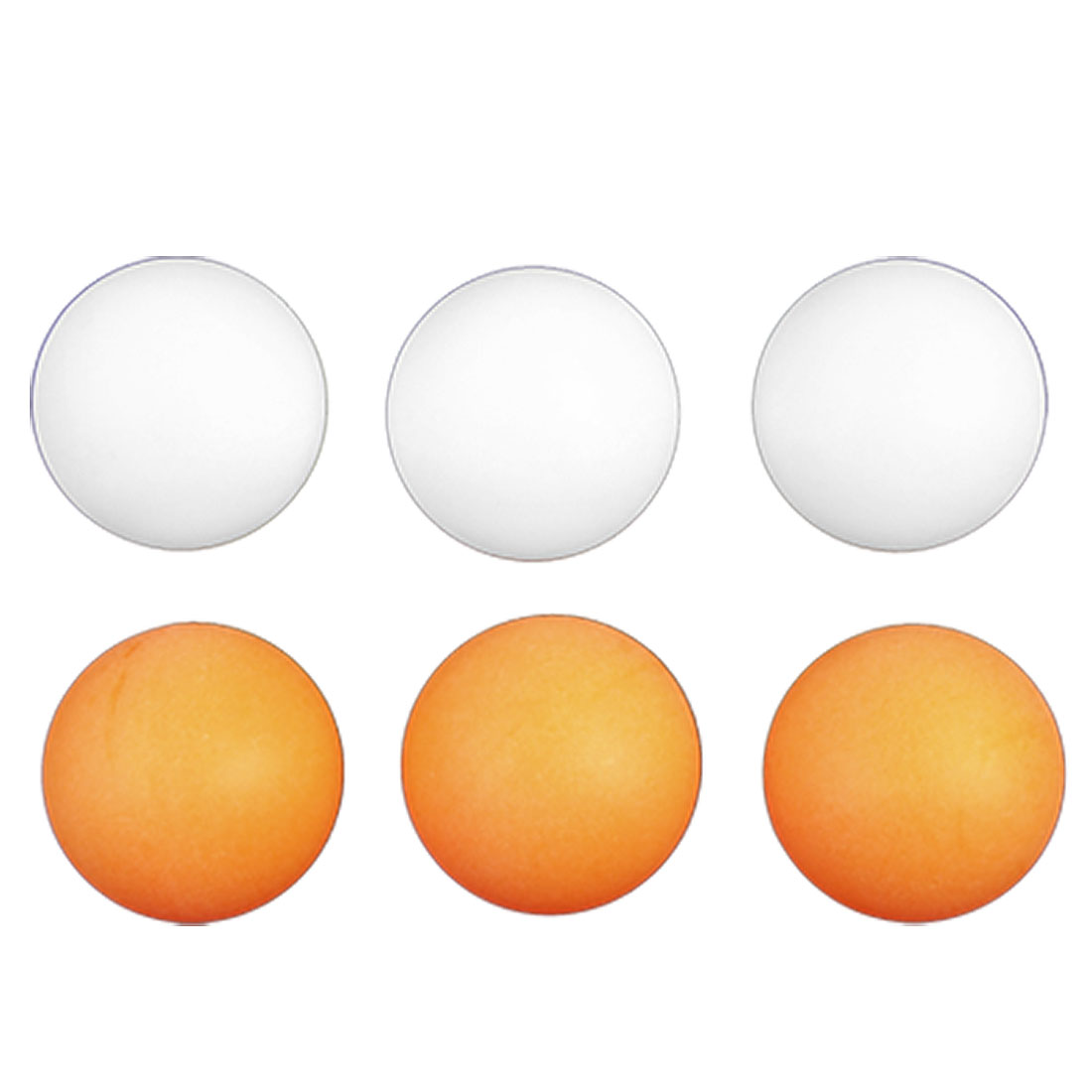 6-Pcs-40mm-Diameter-Orange-White-Table-Tennis-Balls