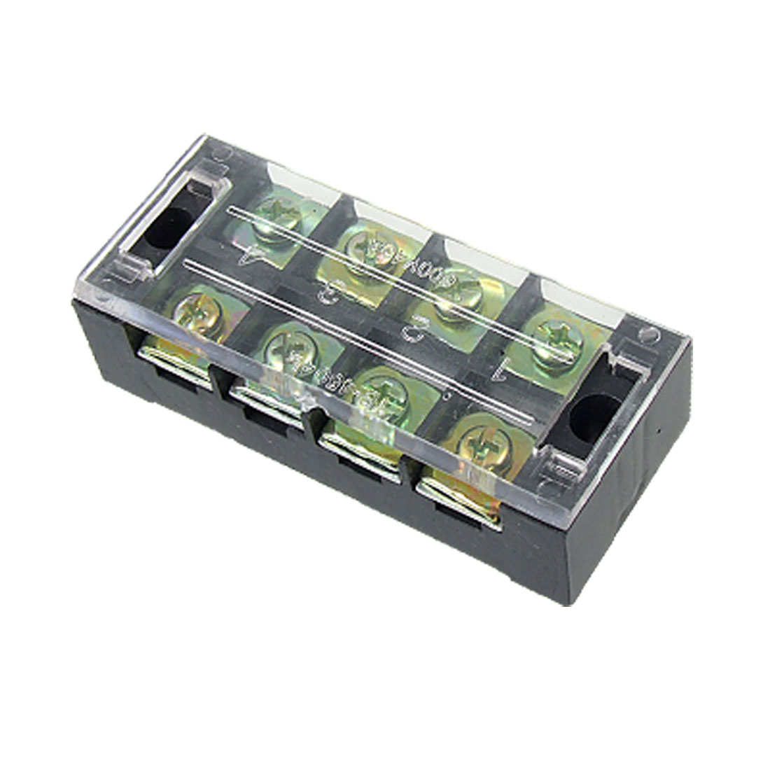 45A-600V-Position-Covered-Screw-Barrier-Strip-Terminal-Block