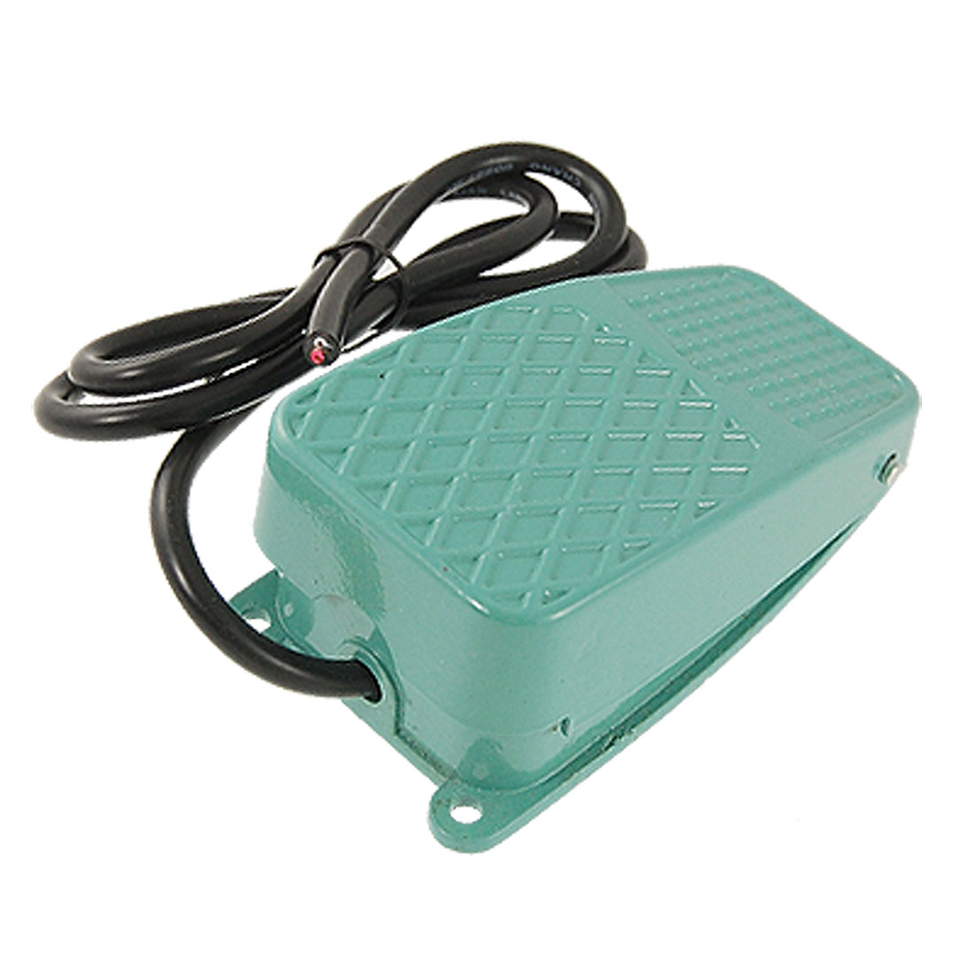Green-Antislip-Metal-Momentary-Power-Foot-Pedal-Switch-AC250V-10A-SPDT-NO-NC