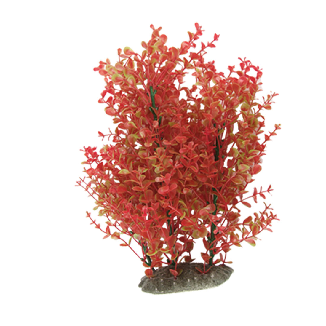 Fish-Tank-Artificial-Plastic-Plant-Ornament-Green-Red-Uvjif
