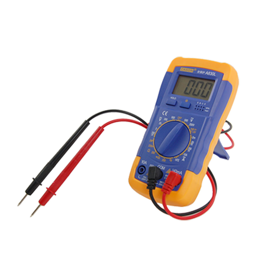Unique Bargains Pocket Size Volt Amp Ohm Testing LCD Digital Multimeter at Sears.com