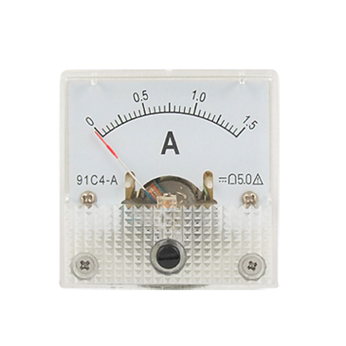 91C4-DC-1-5A-Analog-Current-Panel-Meter-Gauge-Ammeter