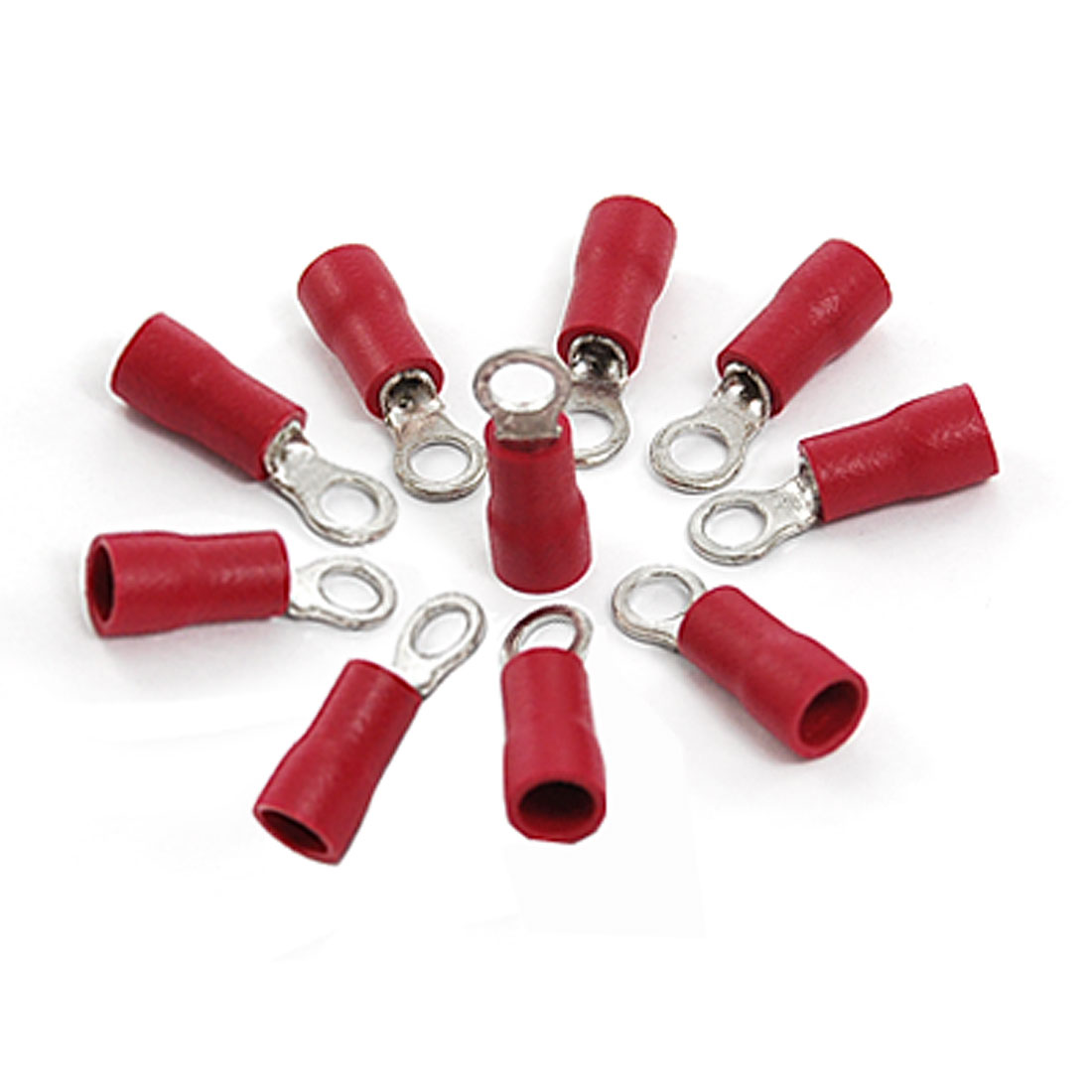 RV1-25-3-2-Red-PVC-Sleeve-Insulated-Ring-Tongue-Terminals-10-Pcs