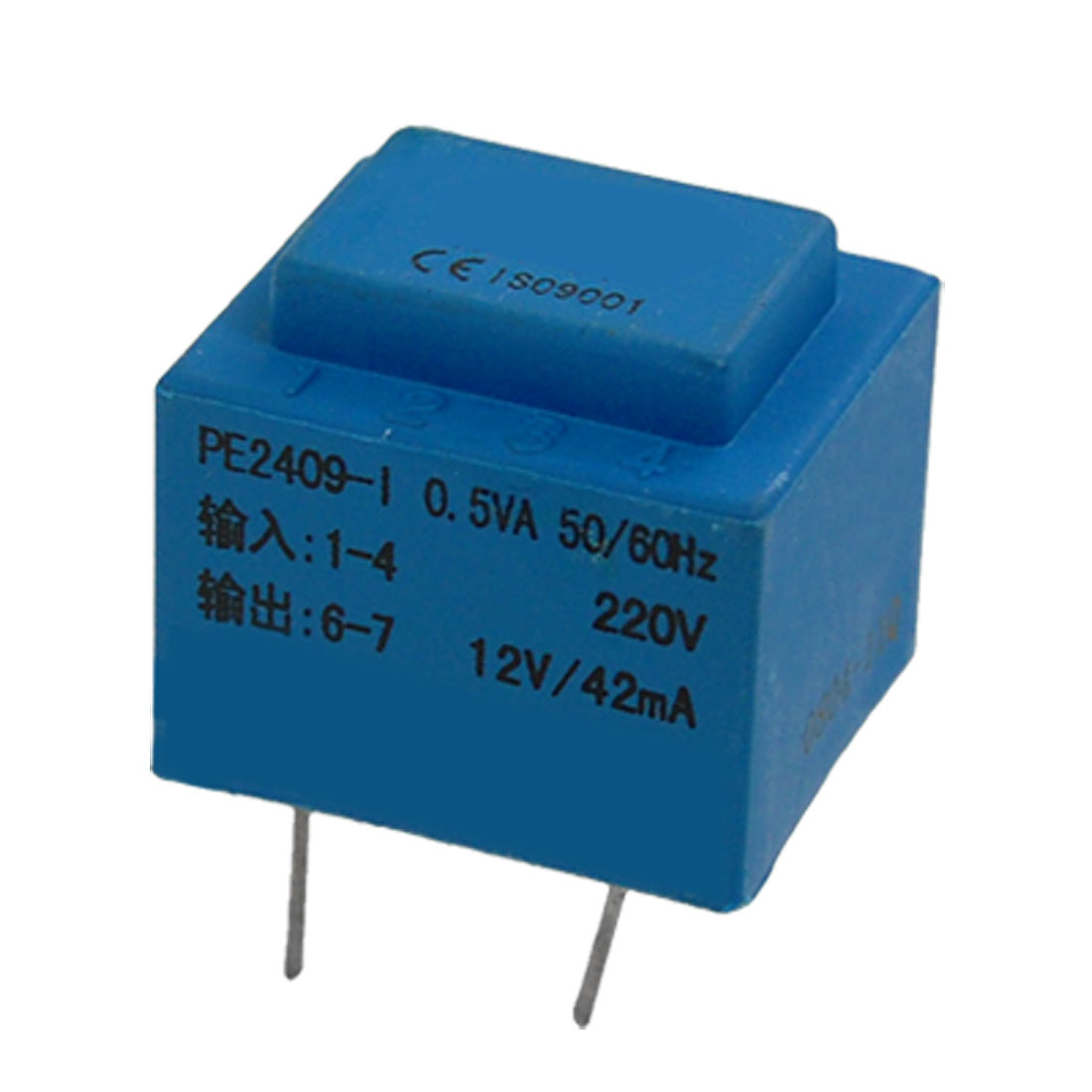 Voltage-Converter-4-Pins-Encapsulated-Transformer-0-5VA