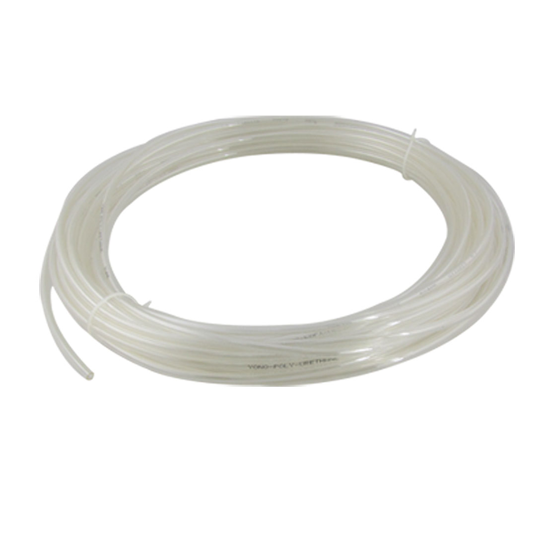 Unique Bargains Transparent 6mm OD 4mm ID 20M 65.6Ft Pneumatic PU Air Tube Hose at Sears.com
