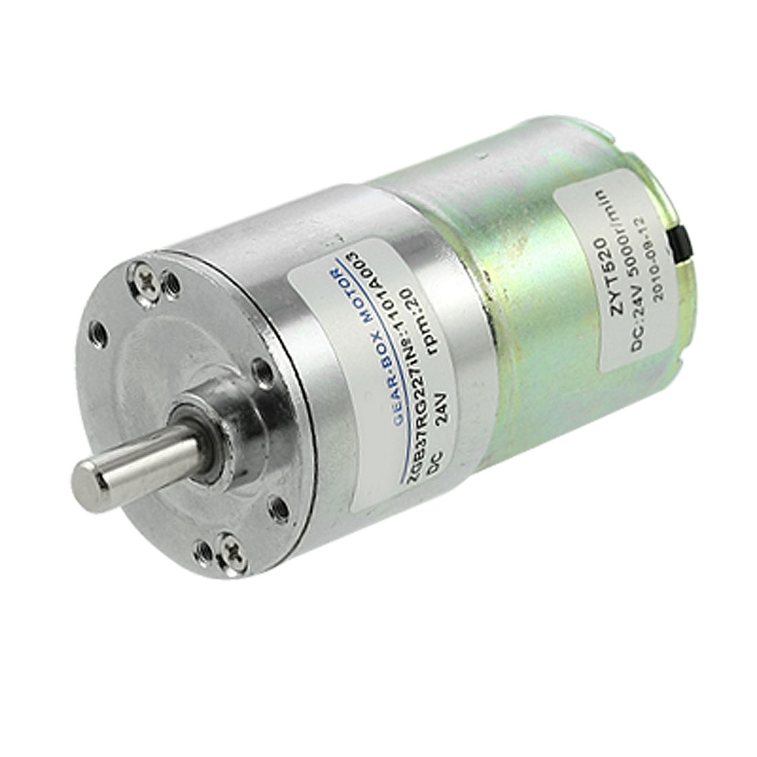 Electric-37mm-Gearbox-Dia-DC-Geared-Motor-0-33A-20RPM-24V