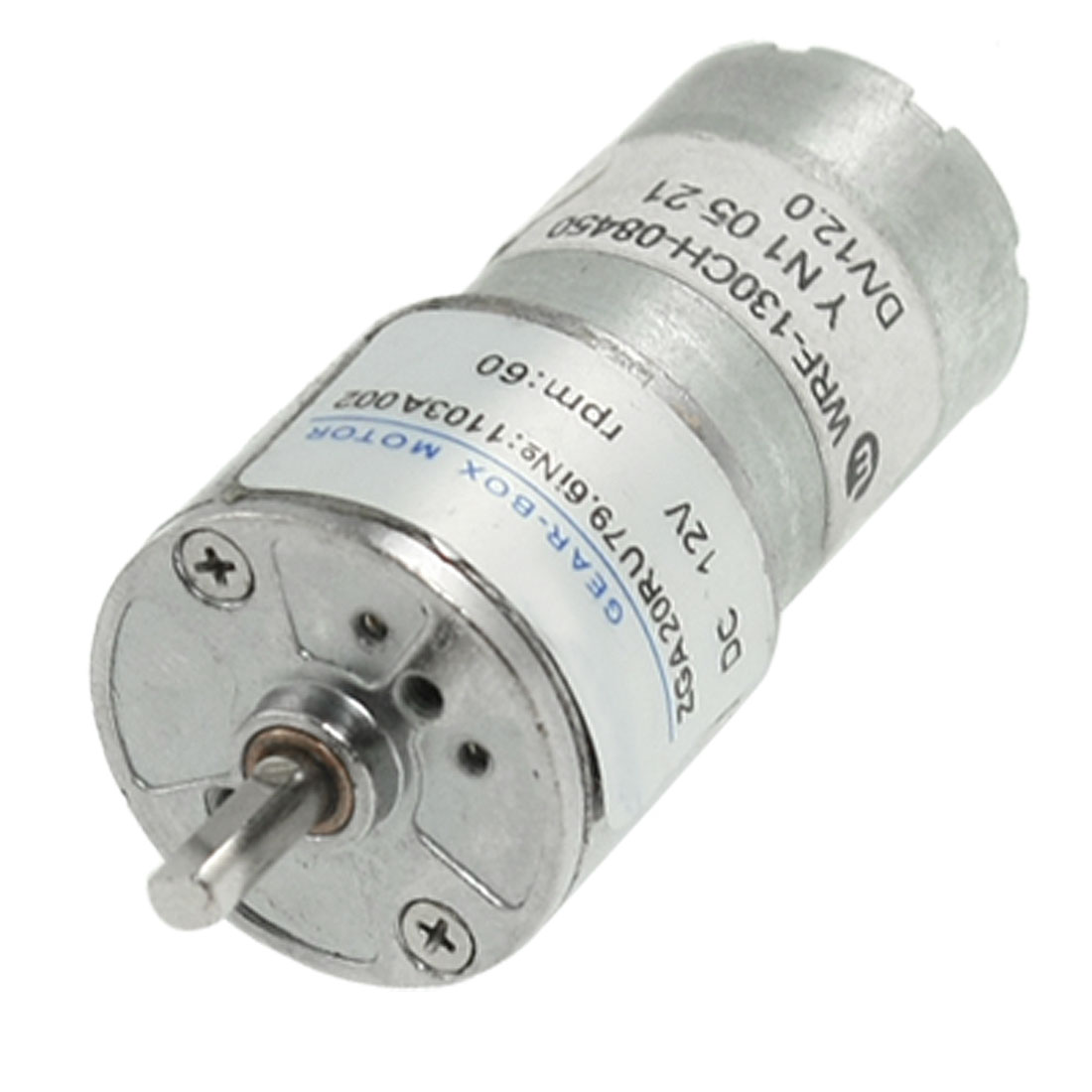 3mm-Shaft-1-55kg-cm-60RPM-12V-0-12A-DC-Geared-Gear-Box-Motor-Replacement