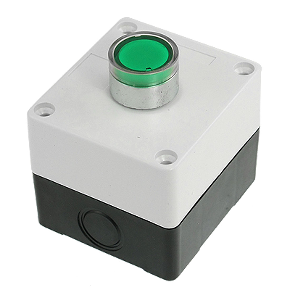 DC-24V-Green-Round-Cap-Signal-Illuminated-Push-Button-Switch-Switching