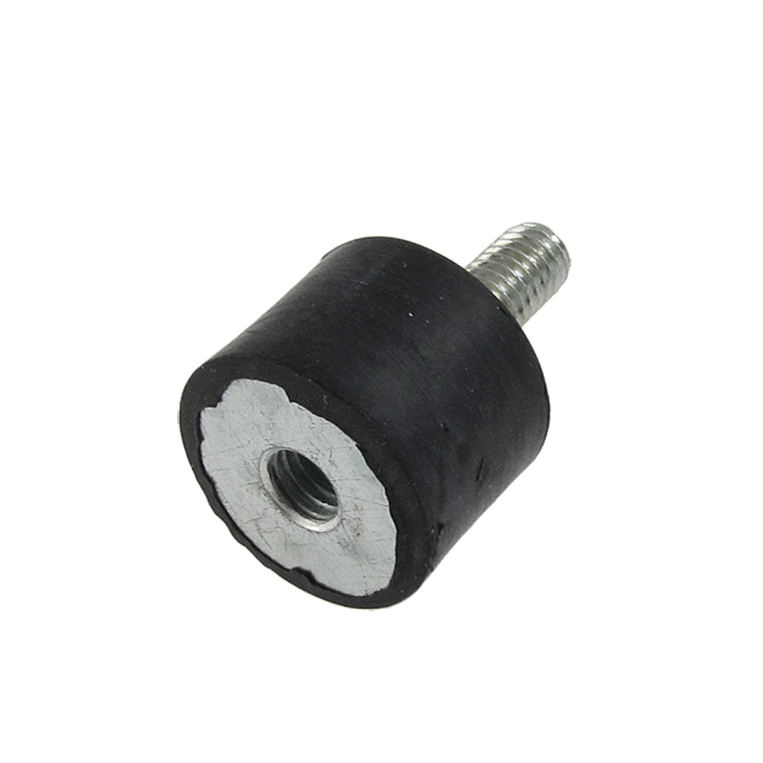 M6-Black-Silver-Tone-6mm-Dia-Male-Thread-Anti-Vibration-Rubber-Mount