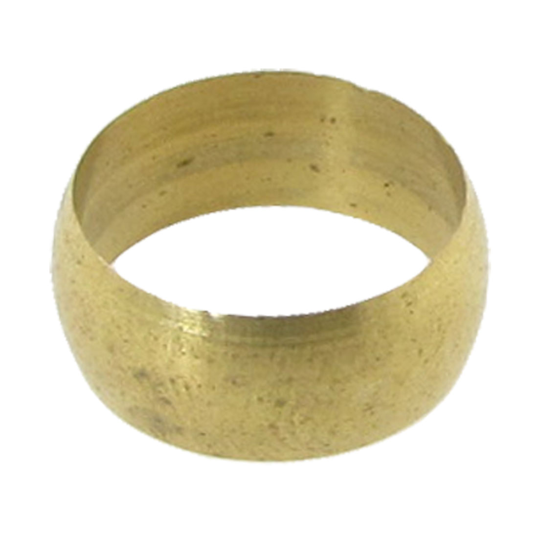 0-47-Dia-Tubing-Fitting-Gold-Tone-Brass-Compression-Sleeve