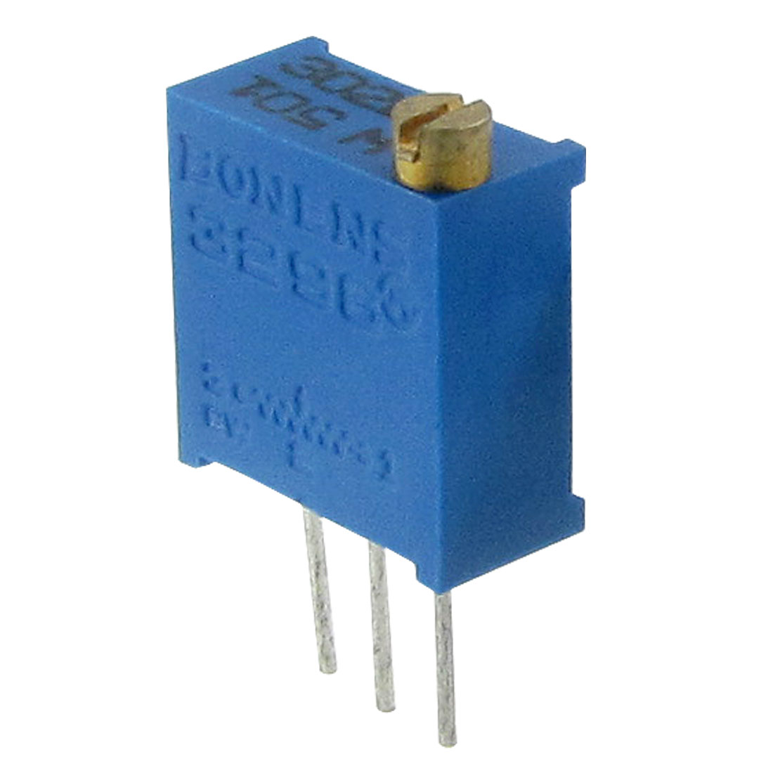 1-2W-500-Ohm-Through-Hole-3296-Trimmer-Pot-Potentiometer-5-Pcs