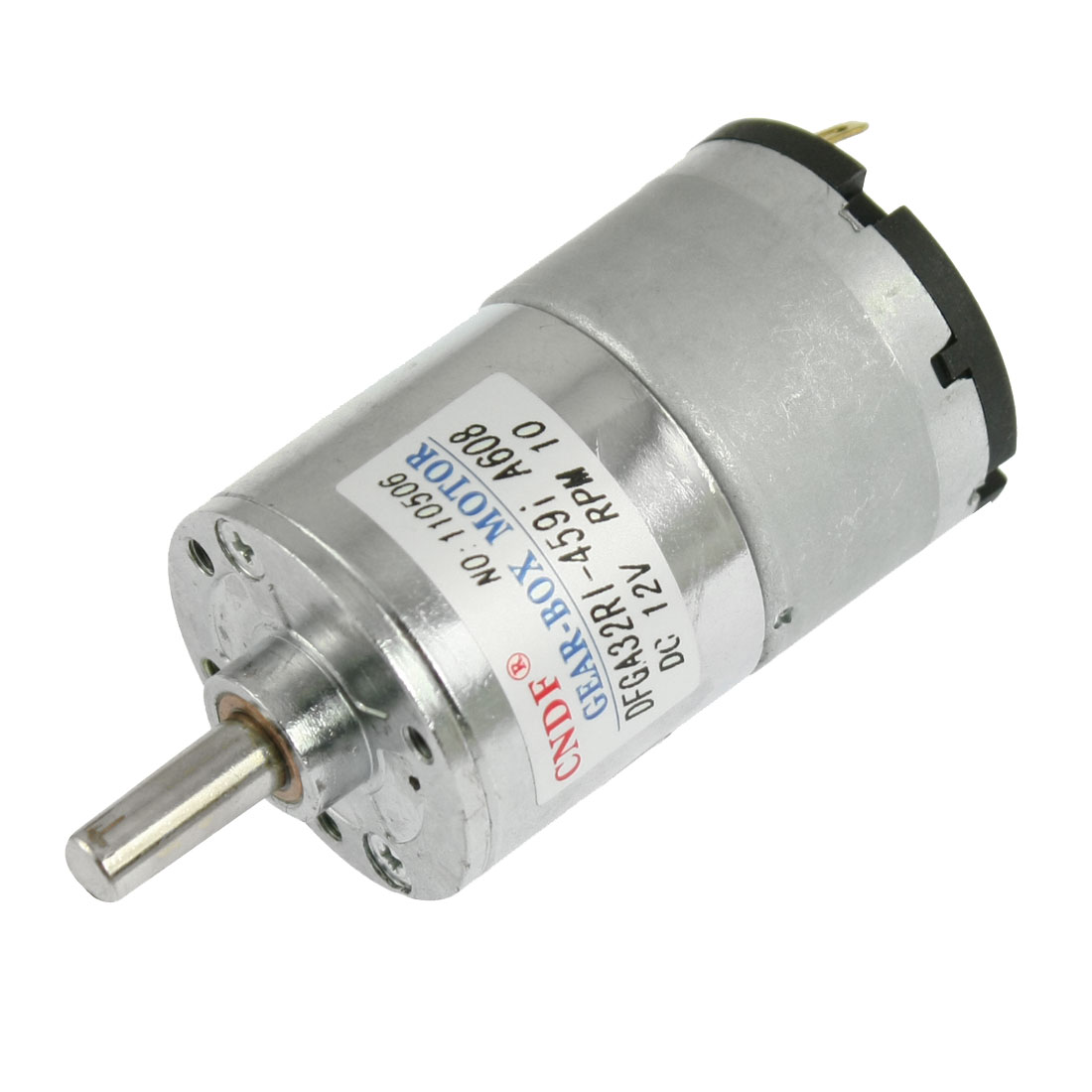 8-26kg-cm-Torque-6mm-Shaft-33mm-Dia-Magnetic-DC-Geared-Motor-10RPM-50mA-12V