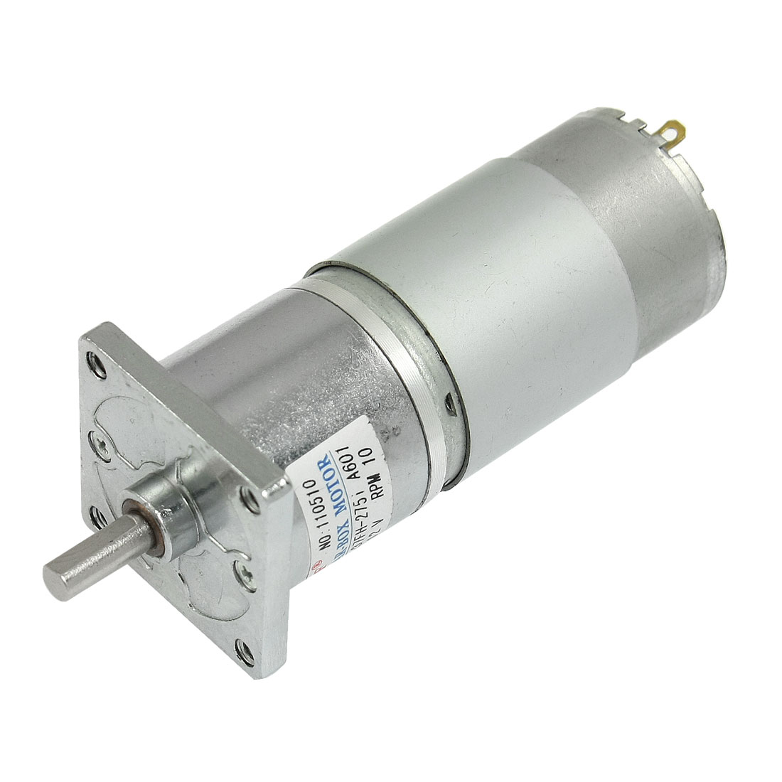 20-9Kg-cm-Torque-6mm-Shaft-37mm-Dia-Magnetic-DC-Geared-Motor-10RPM-150mA-12V