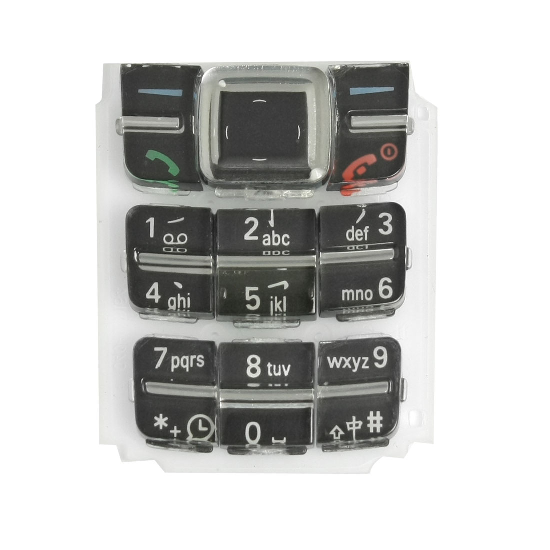 Black-Repairing-Spare-Parts-Plastic-Keyboard-for-Nokia-1600