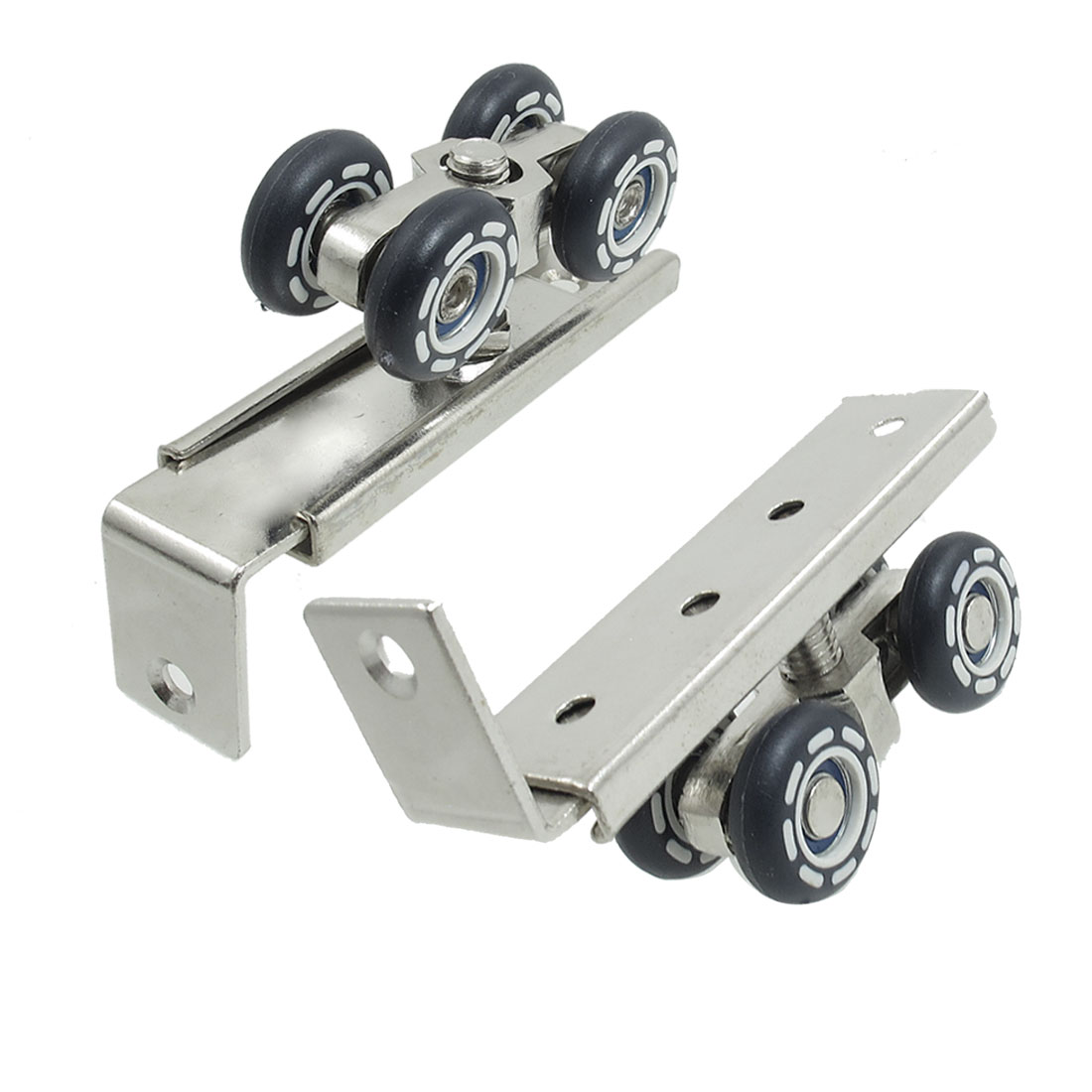 Unique Bargains Dark Blue 4-wheel Wardrobe Closet Sliding Door Rollers 2 Pcs at Sears.com