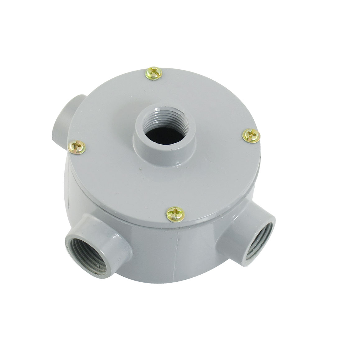 G1-2-Thread-Four-Holes-Conduit-Wiring-Round-Metal-Junction-Box