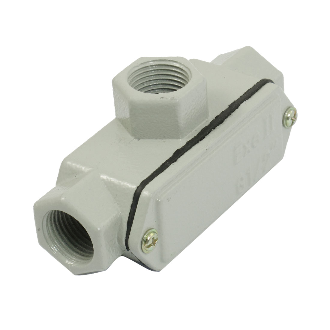 Metal-Shell-Three-Hub-Explosion-proof-Conduit-Outlet-Box-G1-2