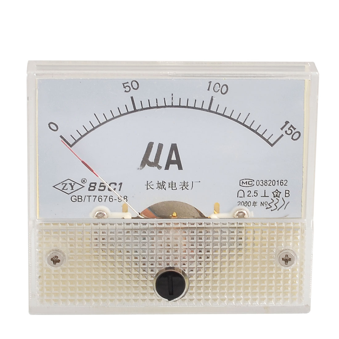 Analog-DC-Current-Testing-Micro-Amp-Ammeter-Panel-Meter-0-150UA