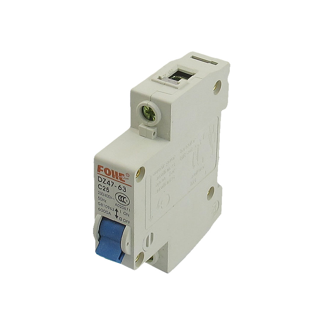 6000A-Breaking-Capacity-1P-Miniature-Circuit-Breaker-AC-230V-400V-25A