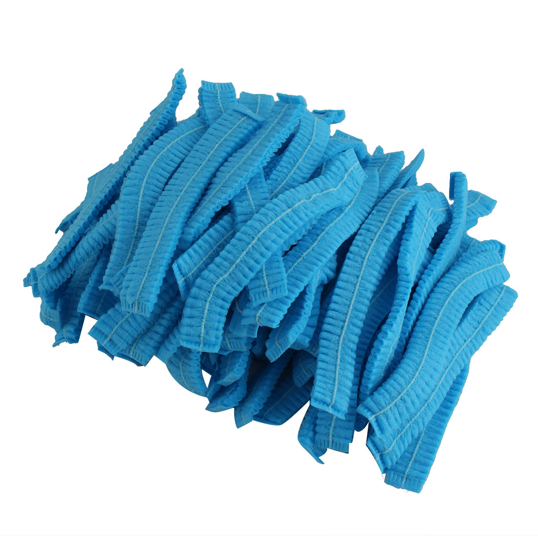 Hospital-Pleated-Blue-Non-woven-Fabric-Anti-Dust-Disposable-Mop-Cap-110-Pcs