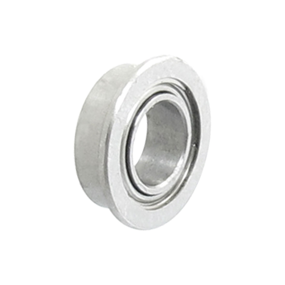 Metal-7mm-x-4mm-x-2-5mm-Radial-Shield-Flanged-Deep-Groove-Ball-Bearing