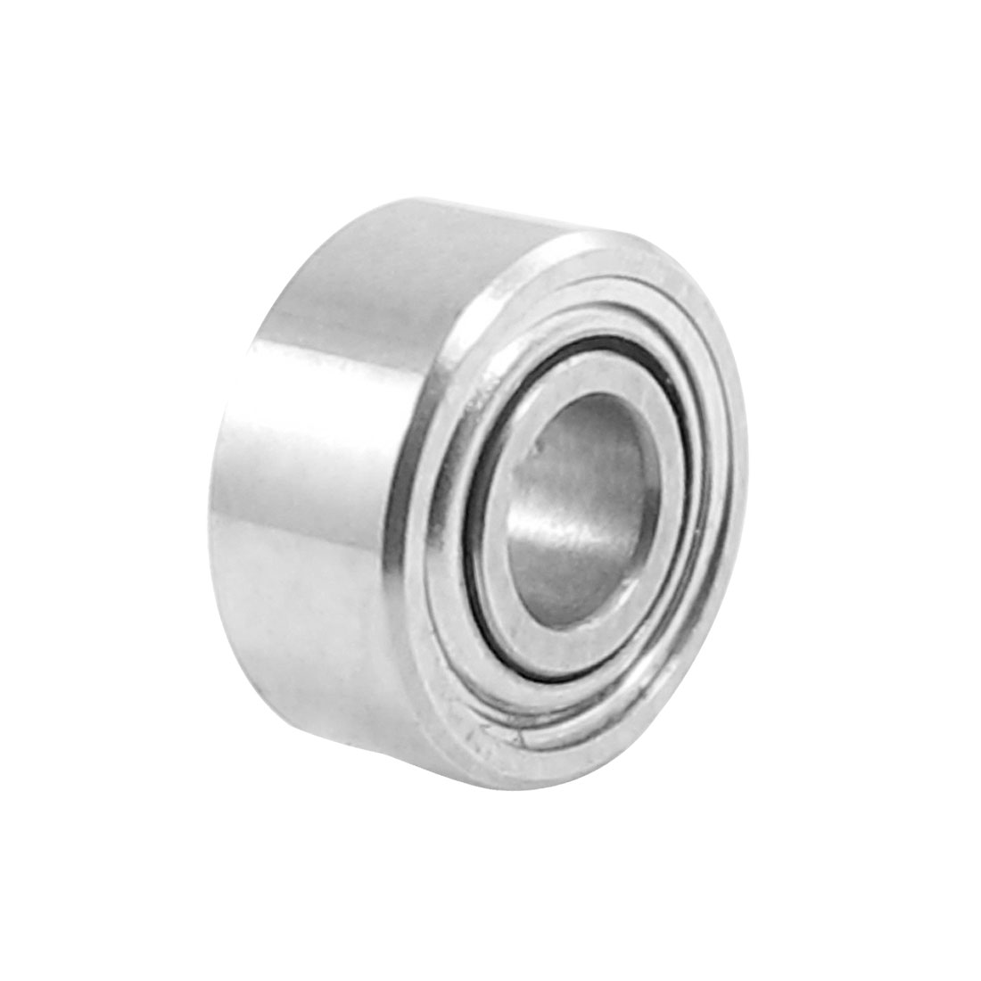 5mm-x-2mm-x-2-3mm-Metal-Shields-Deep-Groove-Ball-Bearing-Silver-Tone