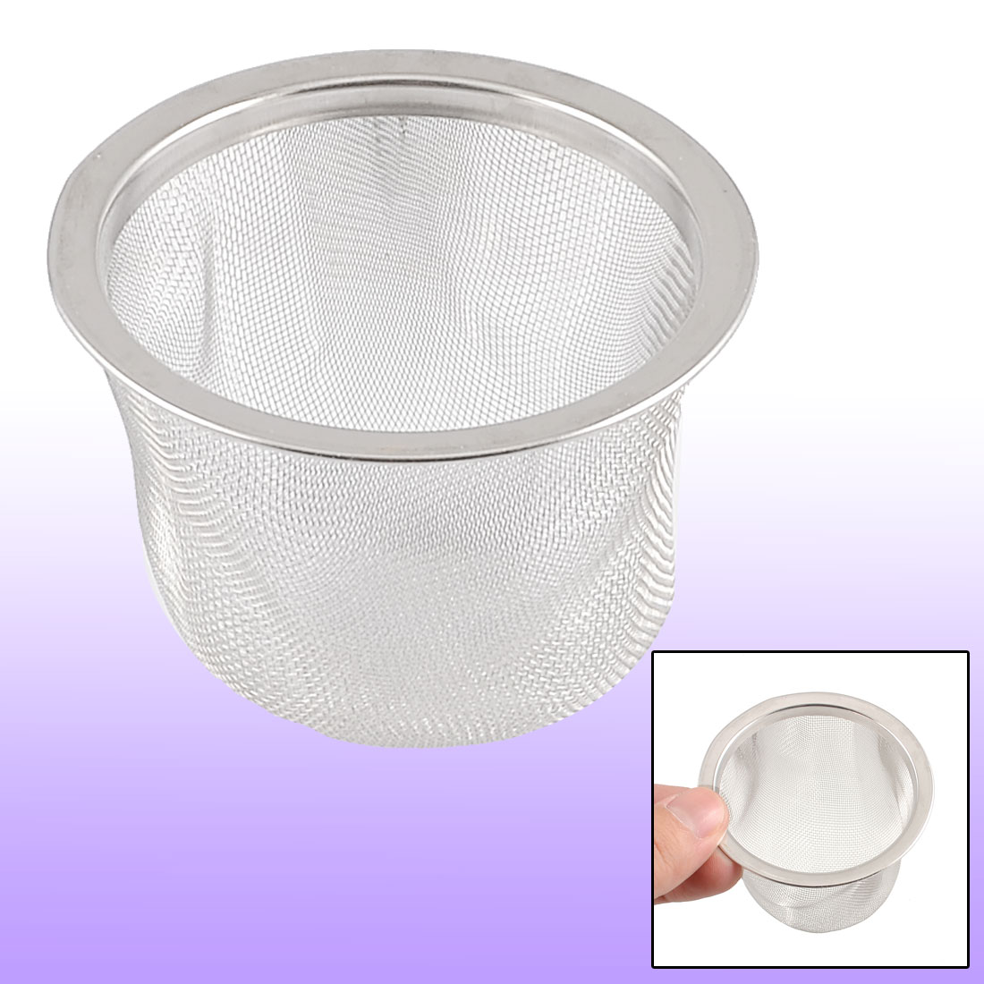 65mm-Silver-Tone-Stainless-Steel-Mesh-Tea-Leaves-Spice-Strainer-Basket