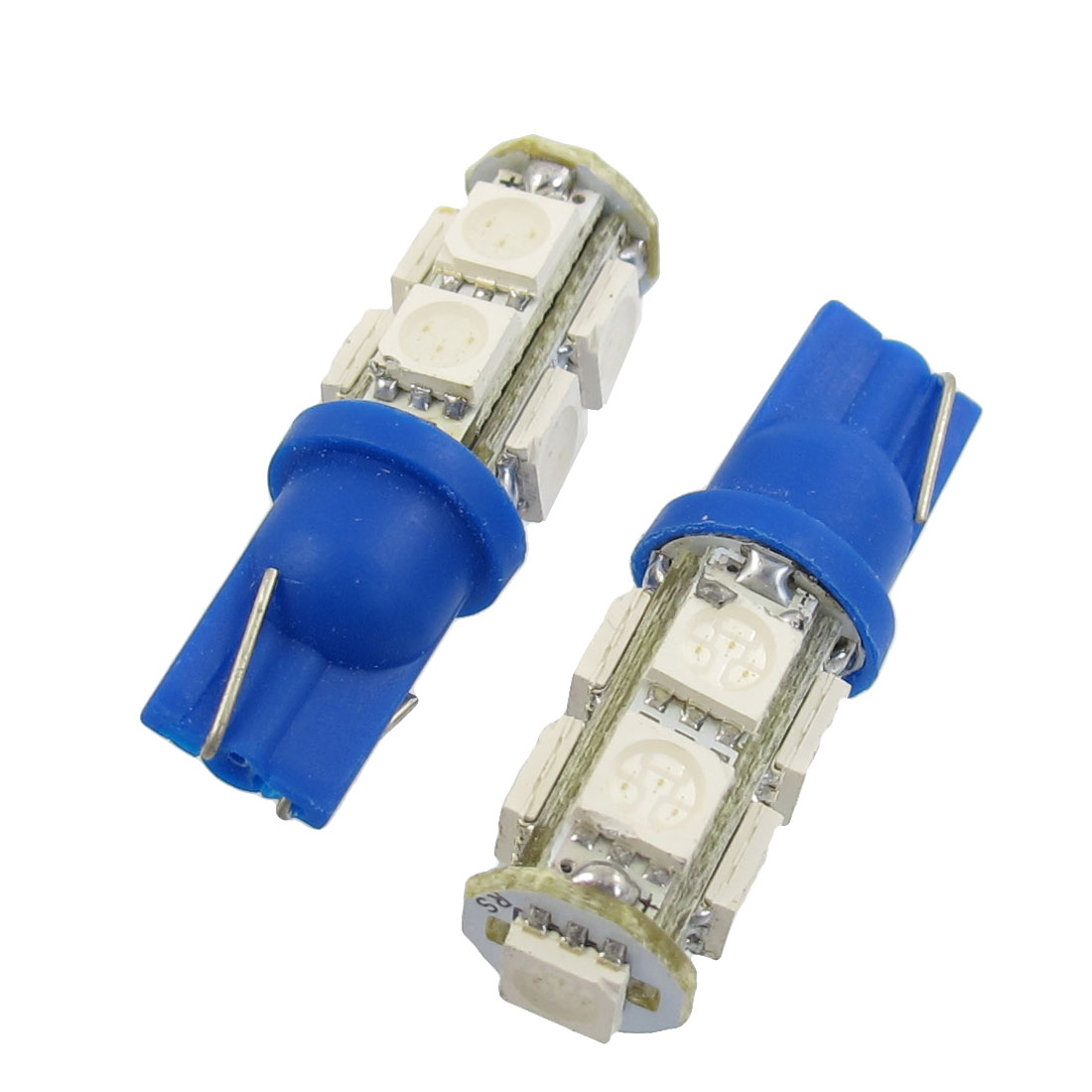 2-Pcs-T10-194-168-W5W-Blue-5050-SMD-9-LED-Car-Light-Bulb-lamp-12V