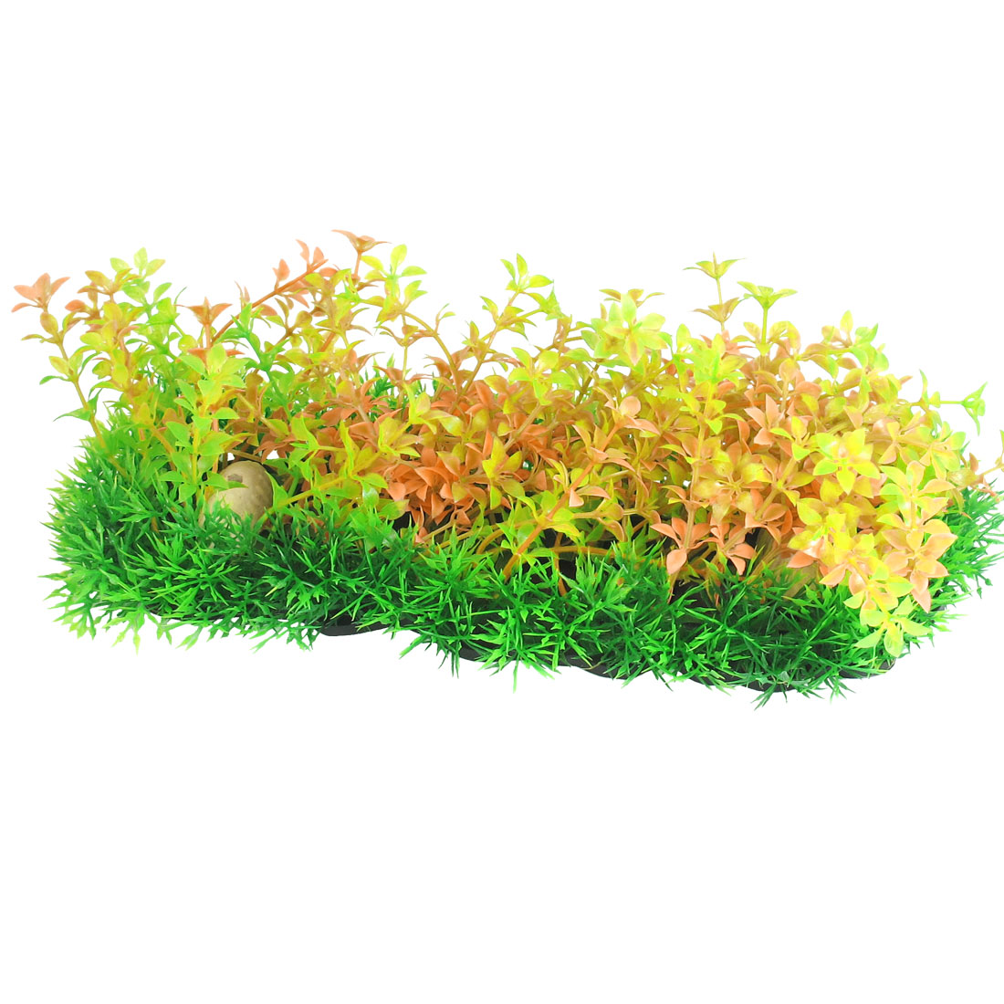 3-9-Height-Yellow-Green-Plastic-Water-Plants-Ornament-for-Aquarium-Fish-Tank