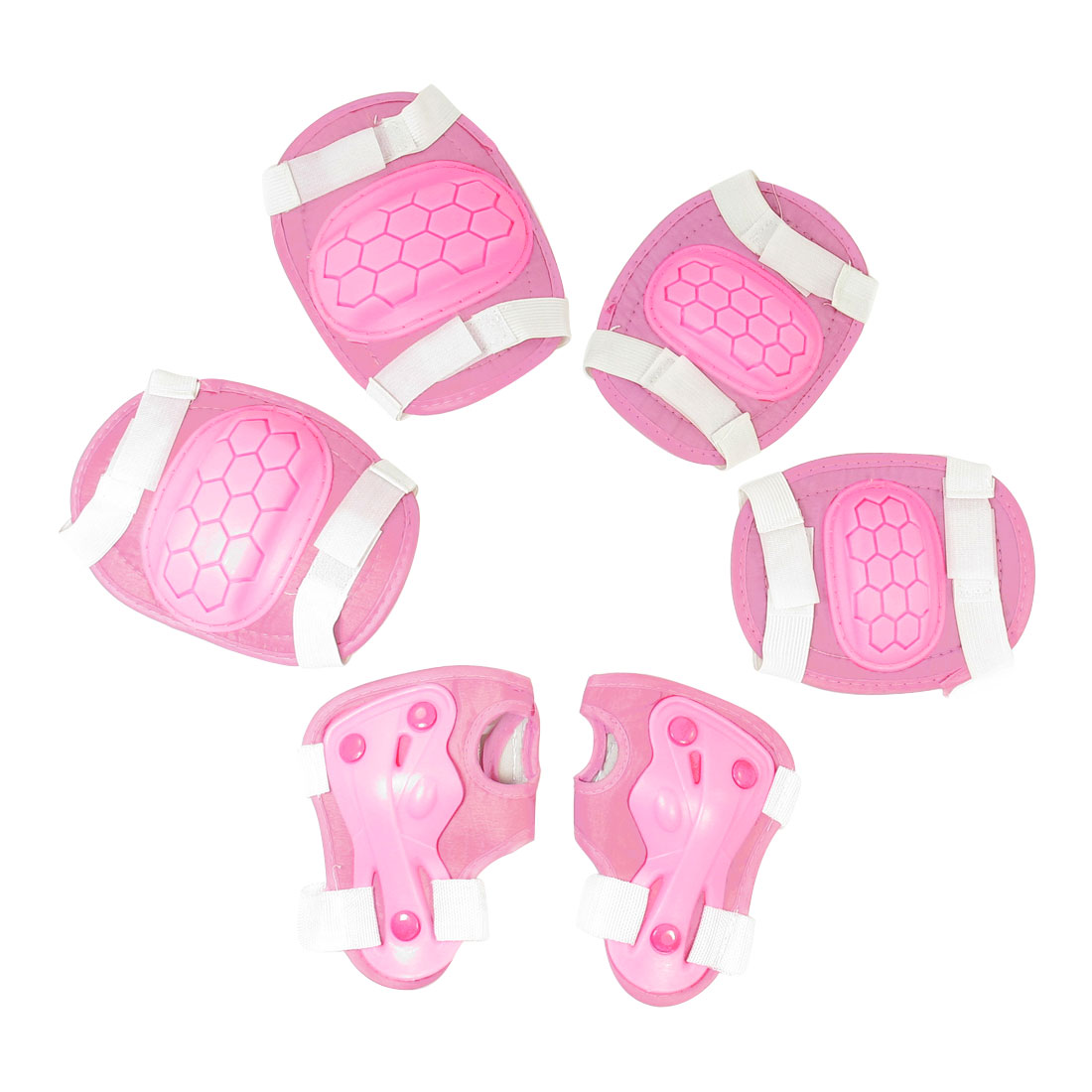Skiting-Pink-Band-Arch-Design-Palm-Knee-Elbow-Support-Protector-for-Children
