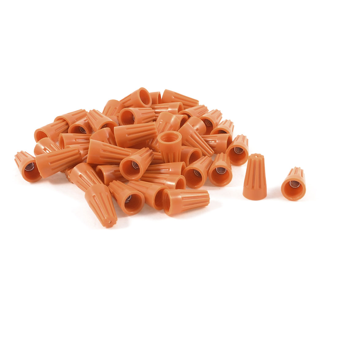 50-Pcs-P1-Electrical-Orange-Straight-Barrel-Wiring-Connectors-Wire-Nuts