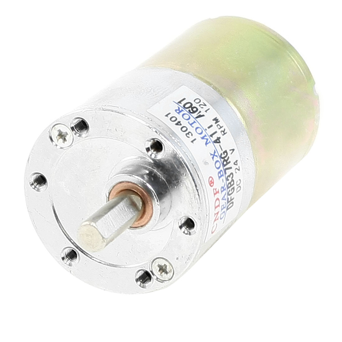 13-14Kg-cm-6mm-Shaft-Permanent-Magnetic-Gear-Box-Motor-120-RPM-DC-24V