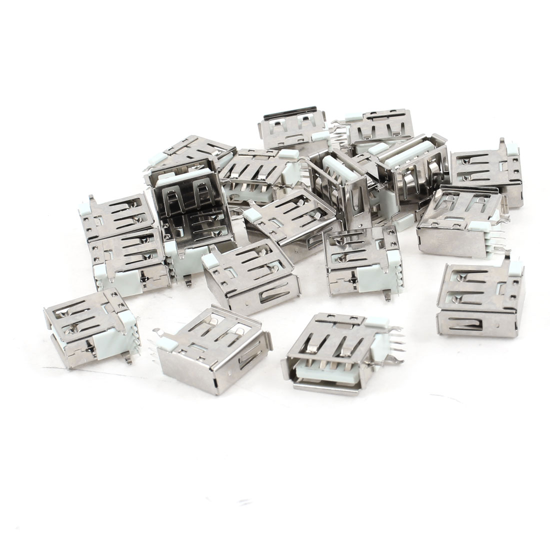 20-Pcs-USB-2-0-Type-A-Female-Side-DIP-Right-Angle-4-Pin-Jack-Socket