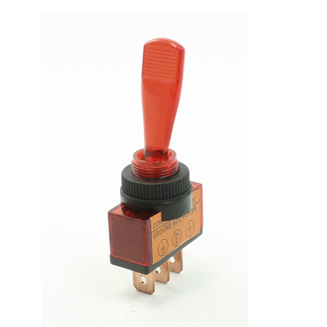 Red-Light-Pilot-Lamp-SPST-ON-OFF-2-Position-3P-Car-Toggle-Switch-DC-12V-20A