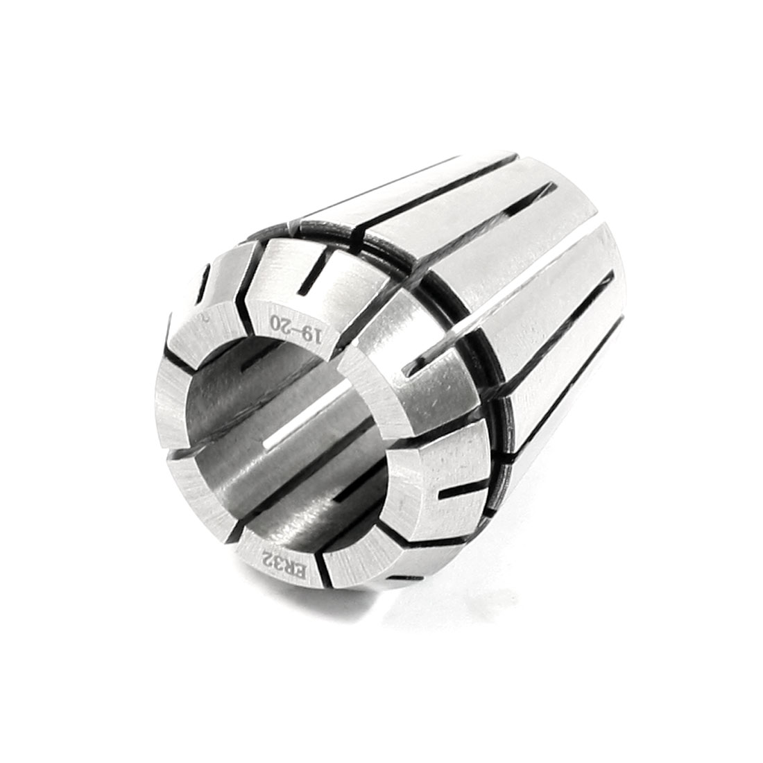 Clamping-Range-20-19mm-Stainless-Steel-ER32-Precision-Spring-Collet-Silver-Tone