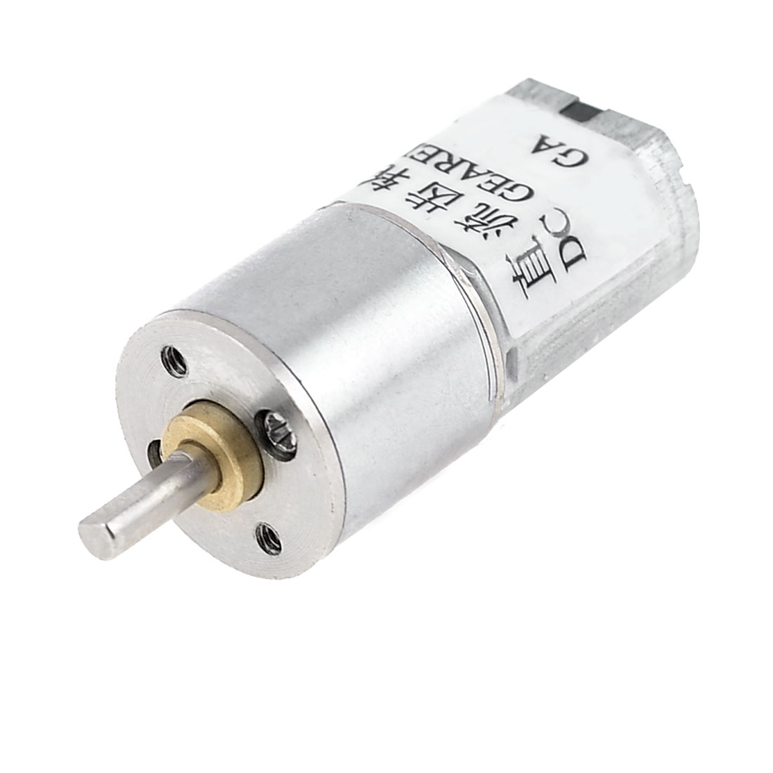 100RPM-Output-Speed-3mm-Shaft-Dia-Synchronous-Reduction-Geared-Motor-6VDC