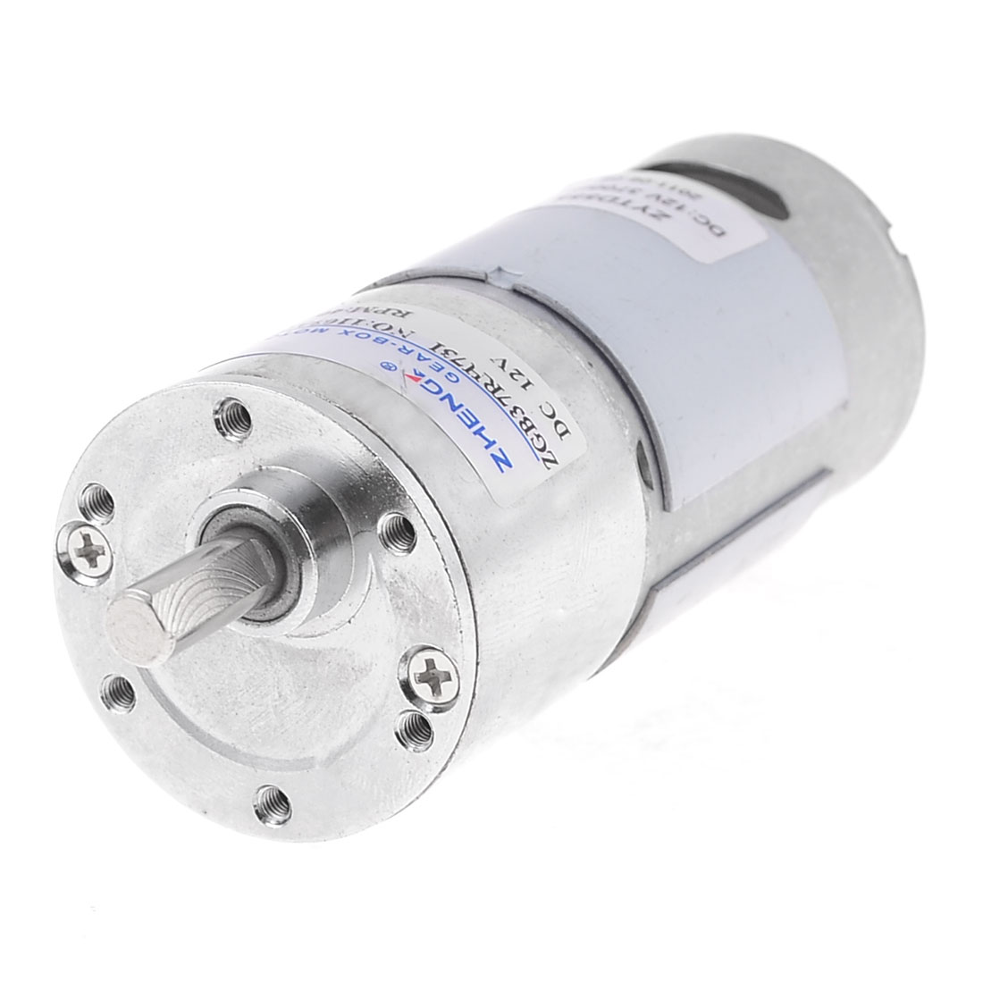 DC-12V-Torque-6mm-Shaft-35mm-Dia-Magnetic-Geared-Motor-3700RPM