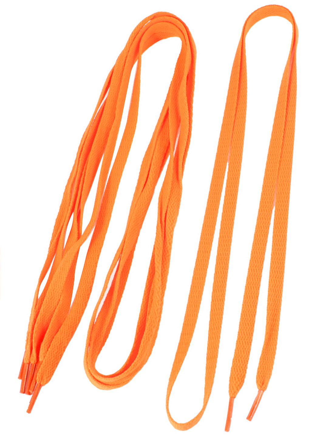 2-Pairs-Sneakers-Shoes-Orange-Shoe-Lace-Strings-for-Both-Women-Men