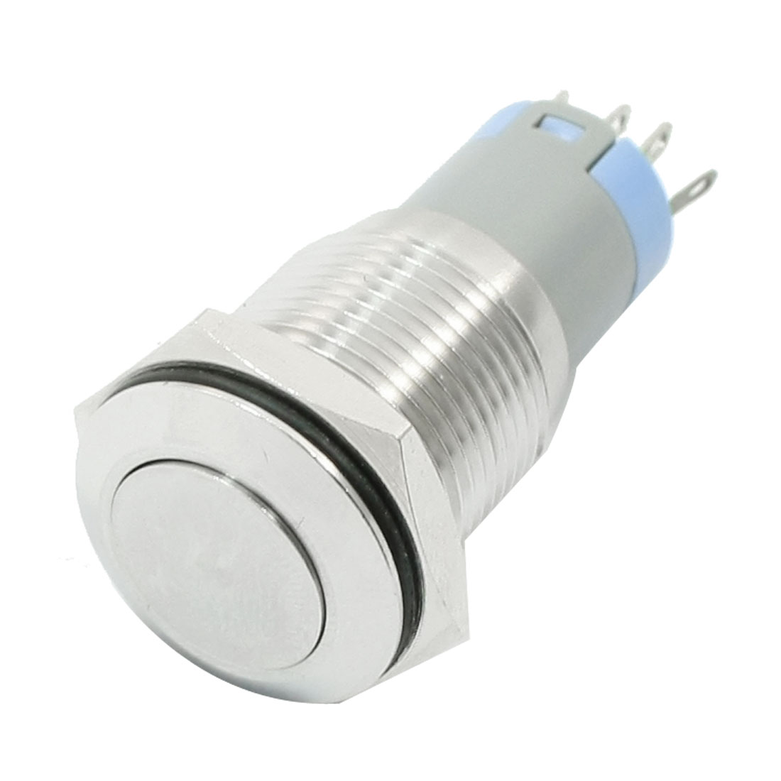 AC-250V-3A-5P-NO-NC-Momentary-Power-Control-16mm-Metal-Push-Button-Switch