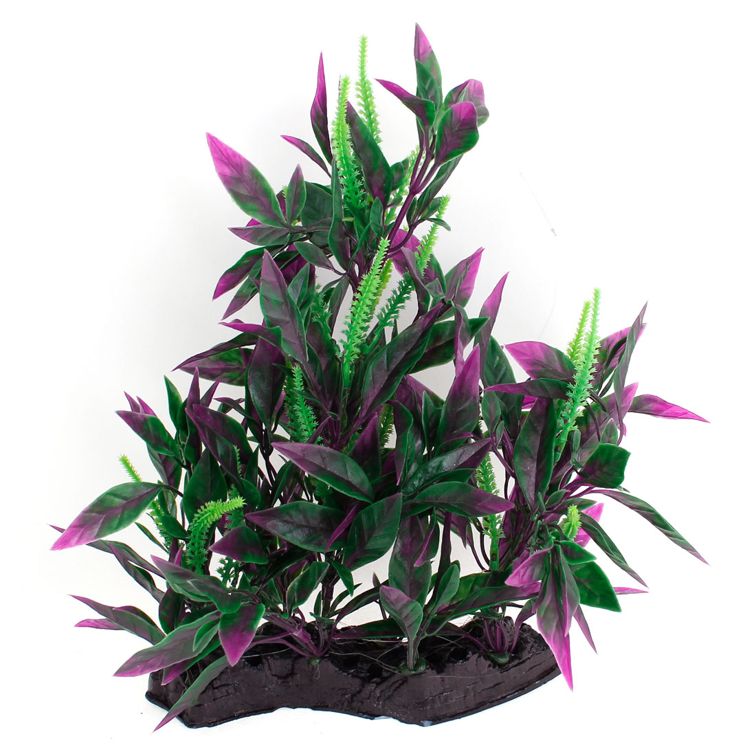 9-4-Height-Plastic-Green-Purple-Tree-Underwater-Plant-Fish-Tank-Ornament