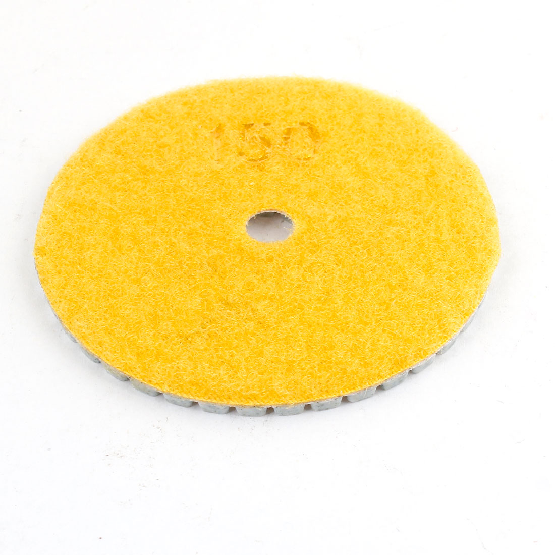 14x80x4mm-150-Grit-Tile-Stone-Polisher-Diamond-Polishing-Pad-Yellow-Gray