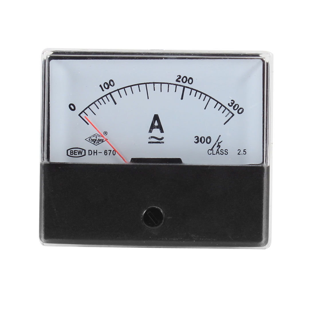 Plastic-Case-Screw-Mounted-DC-AC-0-300A-Analog-Panel-Ammeter