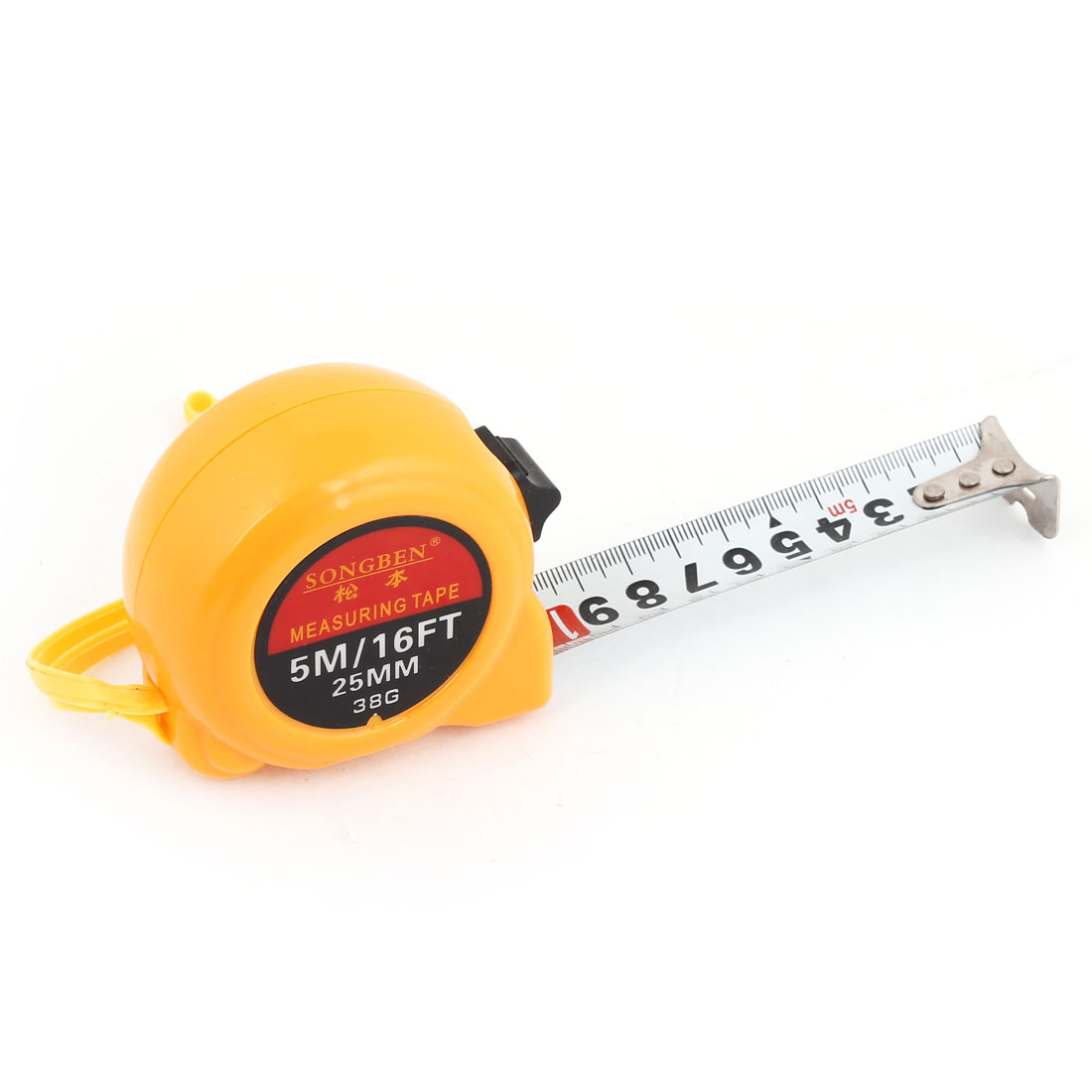 Orange-Shell-Ruler-Tape-Architect-Measuring-Tool-5-Meters-16Ft