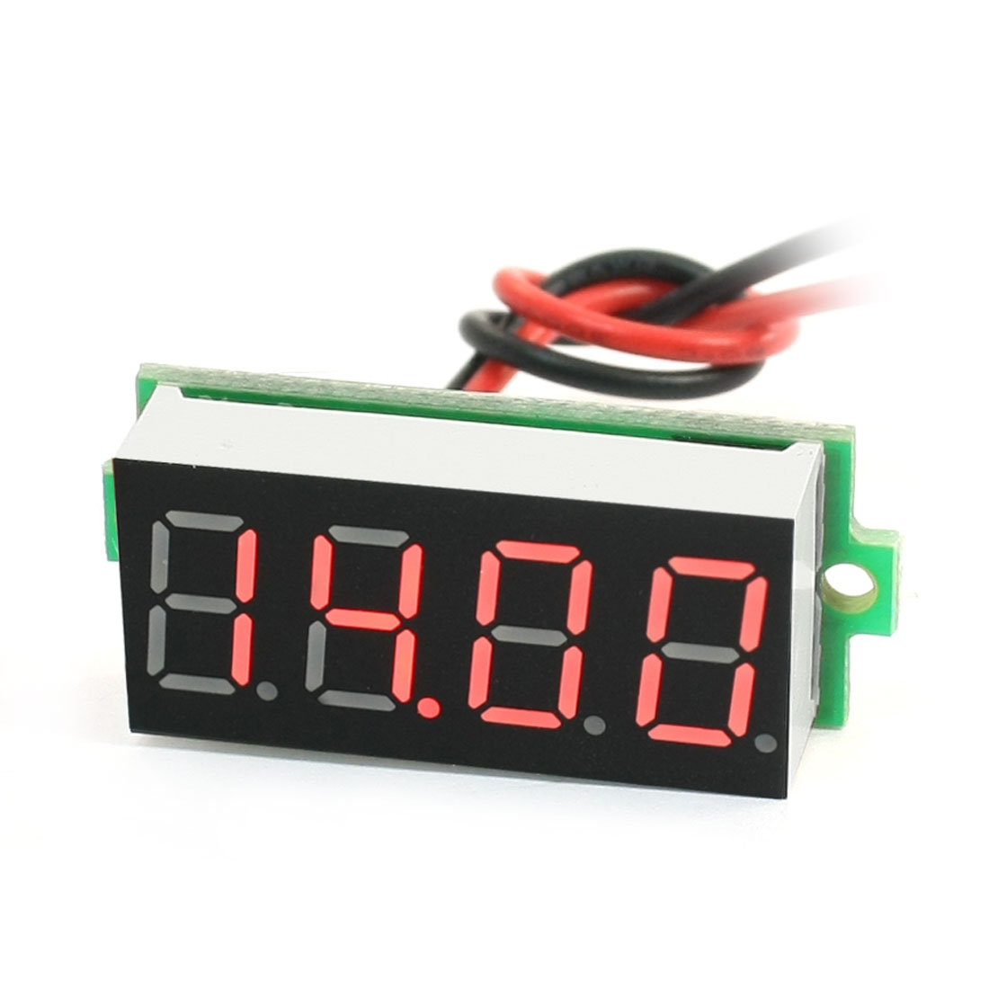 0-36-Red-LED-Display-Panel-Meter-2Wire-Digital-Voltmeter-DC3-5-30V