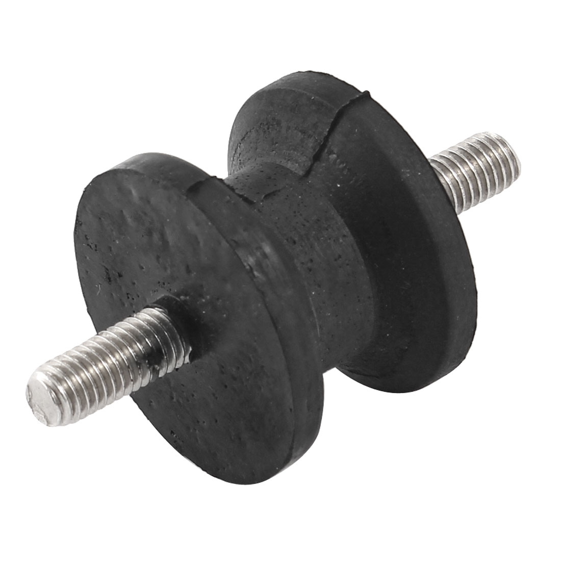 Double-Ends-8mm-Dia-Male-Threaded-40mmx27mm-Rubber-Vibration-Isolator-Mount