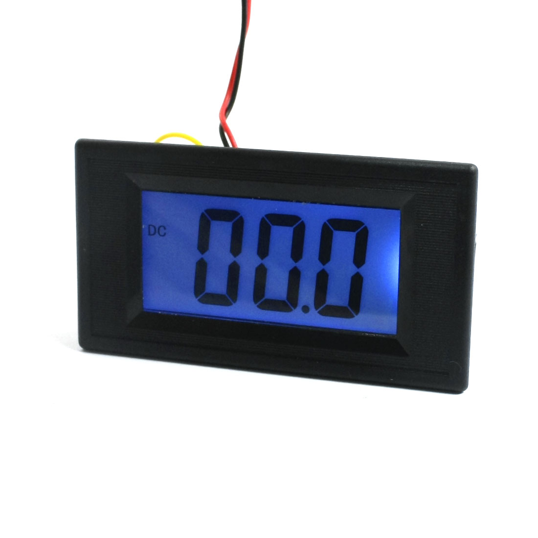 DC-0-200mV-Range-Panel-Mount-Black-LCD-Digital-Display-3-1-2-Voltmeter