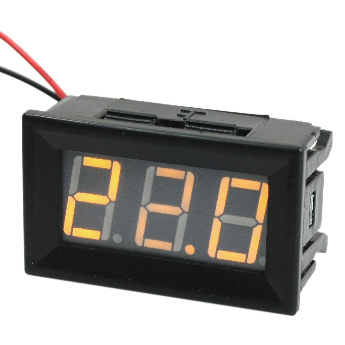 Yellow-Digit-LED-Digital-Display-Voltage-Meter-Voltmeter-Panel-Gauge-DC5-120V