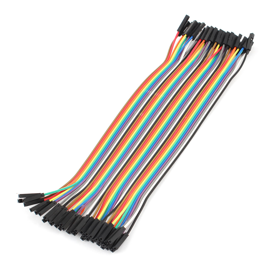 40 Pcs 1P-1P Female Breadboard Jumper Cable Wire 20cm Raspberry pi