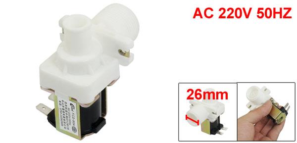 AC 220V 50HZ 2 Terminals 2P Washing Machine Solenoid Valve FCD-90A